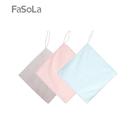 【FaSoLa】0.4um纖維不掉毛清潔布(3入)