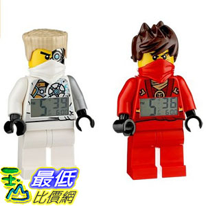 [美國直購] LEGO 9009457 人偶鬧鐘 忍者 凱+冰忍 Exclusive NINJAGO Rebooted Kai and Zane Minifigure Alarm Clocks