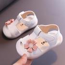 女童涼鞋 女童涼鞋兒童新款寶寶小公主軟底防滑夏小童包頭嬰兒女孩-Ballet朵朵