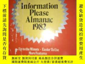 二手書博民逛書店Information罕見Please Almanac ,Atl