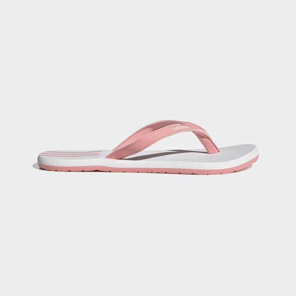 Adidas EEZAY FLIP-FLOPS [EG2035] 女鞋 拖鞋 涼鞋 夏天 夾腳拖 人字拖 海邊 沙灘 粉