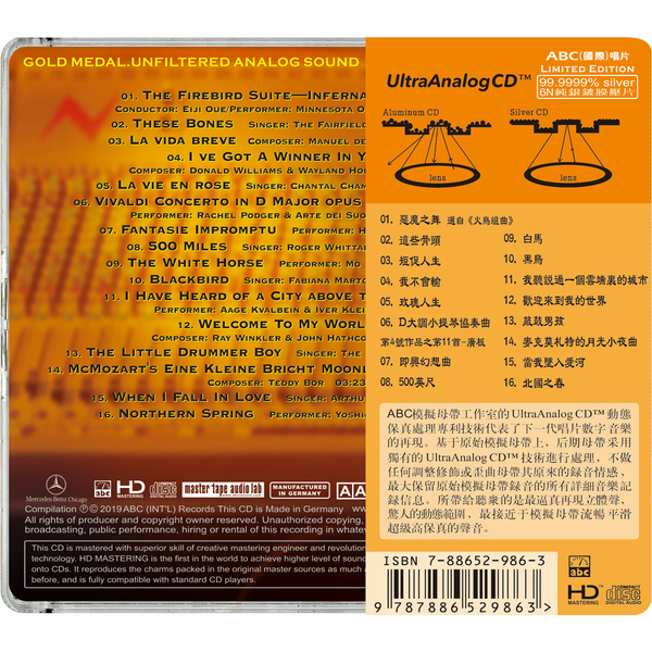 【停看聽音響唱片】【CD】模擬立體聲錄音II:典範