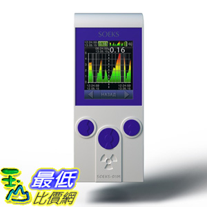 [106海外直購] SOEKS 01-M PRIME蓋革計數器(輻射計) Dosimeter - Radiation Detector Geiger Counter. En UI