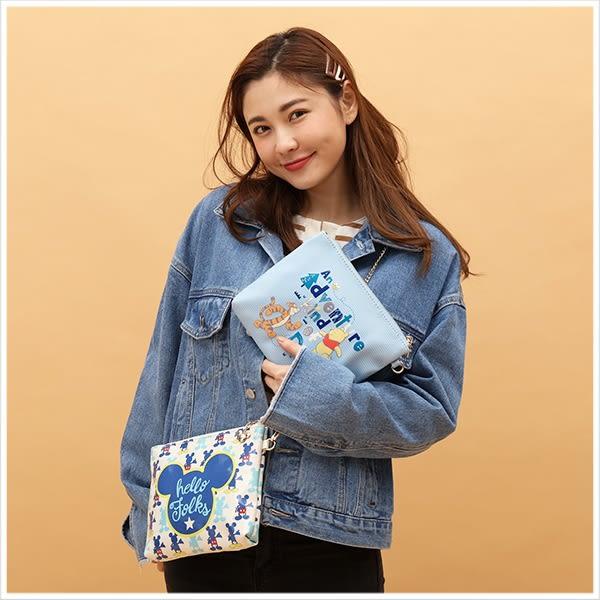 拉鍊包-迪士尼系列鏈條造型隨身小包-共9色-A17172745-天藍小舖