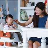 年終盛宴❤全館85折寶寶餐椅兒童學坐椅餐桌椅嬰兒用便攜式可折疊飯桌外出吃飯椅
