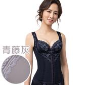 思薇爾-挺享塑系列S-XXL中機能半身塑身衣(青藤灰)