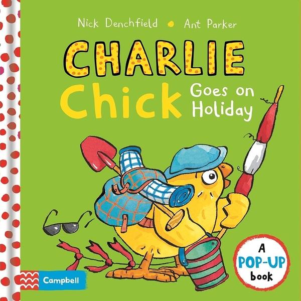 【幼兒立體書】CHARLIE CHICK GOES ON HOLIDAY /立體書