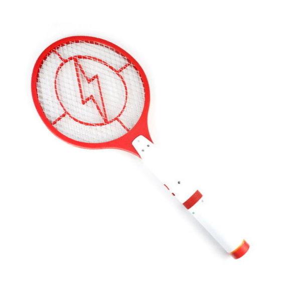 【DQ316】可拆式充電式電蚊拍 手電筒電蚊拍 LED 手電筒 三層網★EZGO商城★