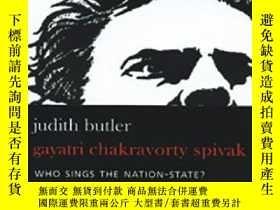二手書博民逛書店Who罕見Sings The Nation-state?Y364682 Judith Butler Seagu