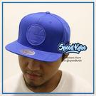 M&N MITCHELL&NESS SNAPBACK 勇士 全藍皮標 棒球帽 HA06GOLWARF☆SP☆