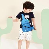 兒童包包 兒童小包包斜挎包男童胸包小學生挎包女童單肩包男童旅游背包-免運直出