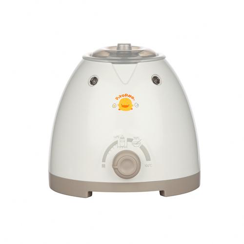 【奇買親子購物網】黃色小鴨多功能三合一溫奶器