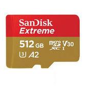 SanDisk Extreme Micro SDXC 512G 記憶卡