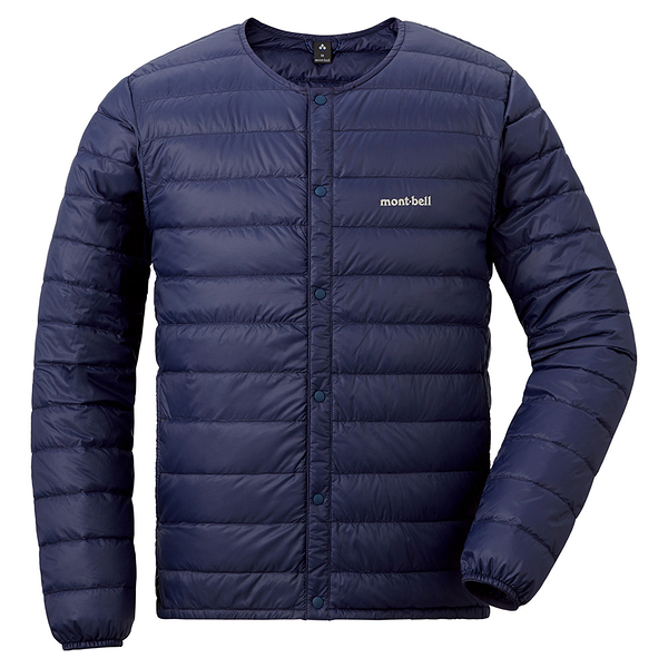 [好也戶外]mont-bell Superior Down Jacket男款圓領羽絨夾克 黑/藍 No.1101503-BK/MLBL