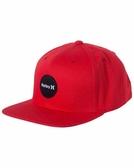 Hurley KRUSH DAZE 棒球帽 - 男(紅/花籃帽底)