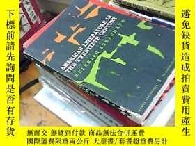二手書博民逛書店american罕見literature in the twen