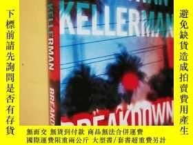 二手書博民逛書店英文原版罕見精裝 Breakdown: An Alex Delaware Novel by Jonathan Ke