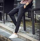 春夏休閒束腳直筒修身青年寬鬆運動小腳褲yhs303【123休閒館】