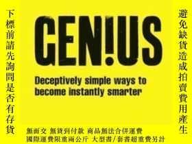 二手書博民逛書店Genius!:罕見Deceptively Simple Ways To Become Instantly Sma