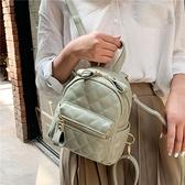迷你後背包2021後背包女韓版時尚繡線菱格迷你小背包ins超火小包包 嬡孕哺