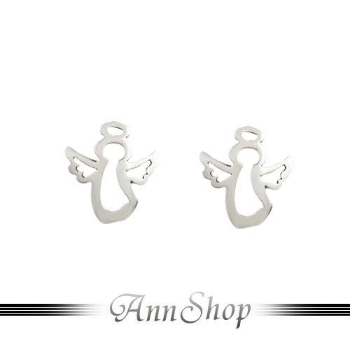 925純銀‧鏤空小天使耳飾