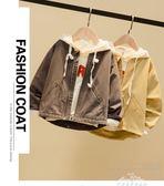 童裝男童外套秋裝4韓版秋款夾克拉鏈衫5男孩上衣休閒潮6『夢娜麗莎精品館』
