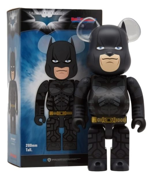 Poco+玩具部 全新 BEARBRICK BE@RBRICK 400% Dark Knight 黑暗騎士 BATMAN 蝙蝠俠