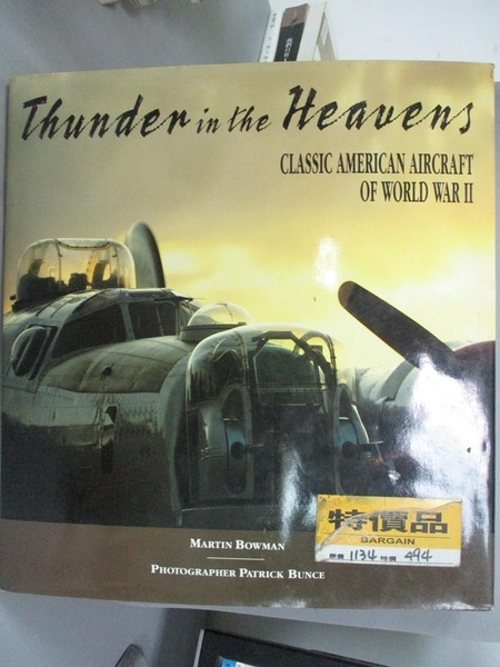 【書寶二手書T3/收藏_YBO】Thunder in the Heavens: Classic American Air