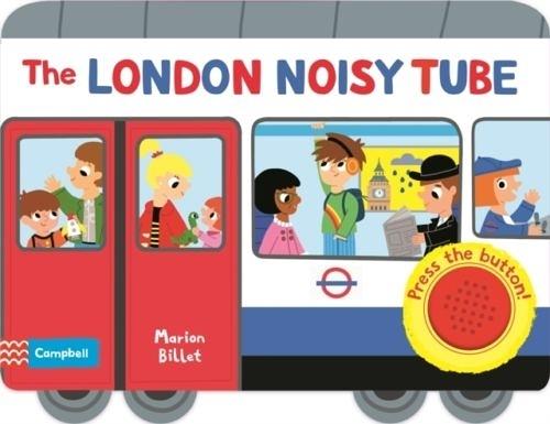 The London Noisy Tube 熱鬧的倫敦地鐵 硬頁音效書