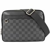 Louis Vuitton LV N40087 Trocadero PM 黑灰棋盤格紋斜背信差包/郵差包 全新 現貨【茱麗葉精品】