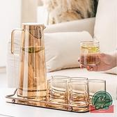 家用涼水杯大容量涼白開水杯茶壺冷水壺玻璃耐高溫【福喜行】