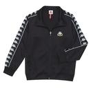 KAPPA義大利 時尚型男運動BANDA針織外套 黑 35153JW005