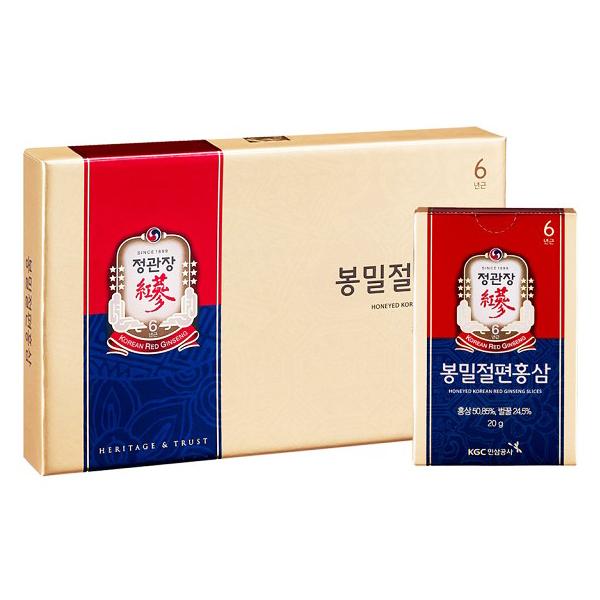 正官庄 蜂蜜切片(6入/盒)x1 (補貨中)