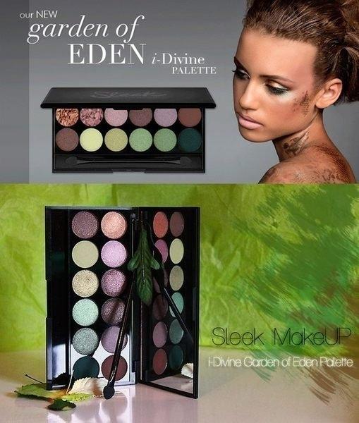 英國sleek專業彩妝 sleek GARDEN OF EDEN 伊甸園12色礦物眼影盤 限量盤【愛來客】