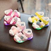 夏季小寶寶鞋嬰兒軟底學步鞋包頭涼鞋0-1一歲女童公主鞋2-3幼兒鞋