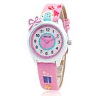 兒童手錶 兒童手錶女孩可愛防水電子石英錶女童中小學生皮帶防水錶韓版簡約 店慶降價