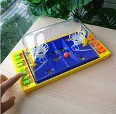 親子聚會兒童對打桌面競賽投籃彈射籃球桌遊yhs880【123休閒館】