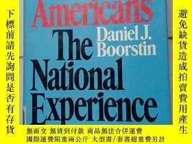 二手書博民逛書店THE罕見AMERICANS The National Experience  There is nothing
