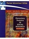 二手書博民逛書店 《Elementary Statistics in Social Research: Essentials》 R2Y ISBN:0205636926│JackLevin