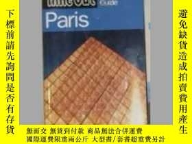 二手書博民逛書店英文原版罕見Time Out ParisY14063