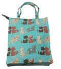 防水購物袋手提袋- 貓咪