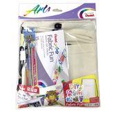Pentel XPTS-ST4 DIY染色粉臘筆組、束口袋自己畫【文具e指通】