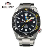 ORIENT 東方錶 M-FORCE 200m潛水機械錶 鋼帶款 SEL0A001B 黑色 - 45mm