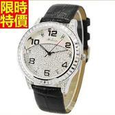 鑽錶-復古有型獨特女腕錶5j27[巴黎精品]