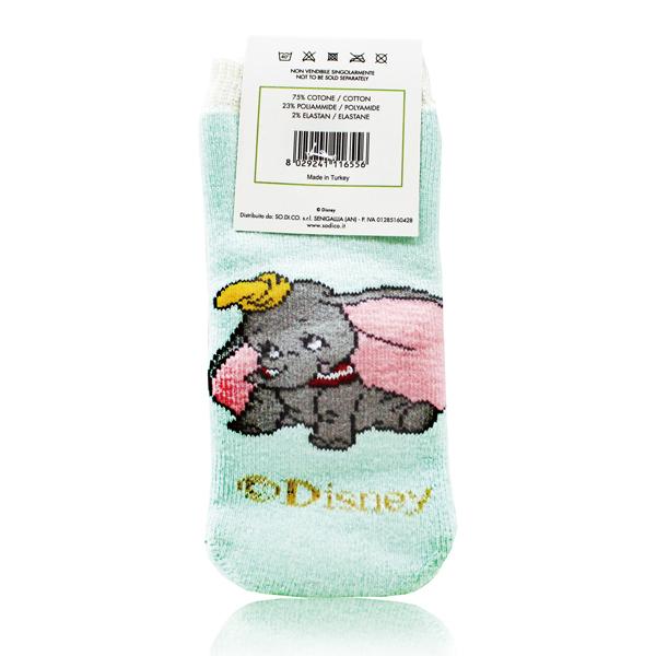 【義大利原裝進口經典卡通】 Disney Dumbo 嬰兒防滑襪,原價$120↘特價$10