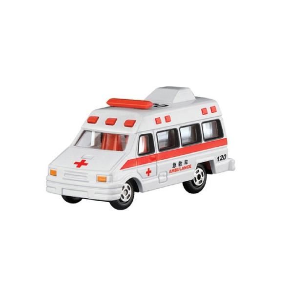 A&L奧麗迷你合金車 NO.67 救護車 滑行車 急救車 十字車 模型車(1:64)【楚崴玩具】
