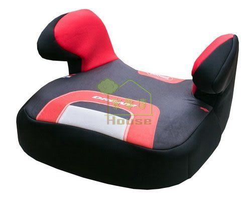 [ 家事達 ] 法國 納尼亞NANIA- 汽車安全座椅-輔助墊 -素紅色 特價