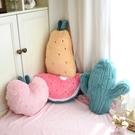 高顏值可愛西瓜菠蘿抱枕被子兩用毯子二合一枕頭靠枕少女心沙發 陽光好物
