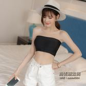 大尺碼女裝抹胸裹胸式帶胸墊彈力加肥大內衣聚攏文胸