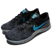 Nike 慢跑鞋 Flex Contact 黑 藍 雪花鞋面 基本款 男鞋 運動鞋【PUMP306】 908983-012